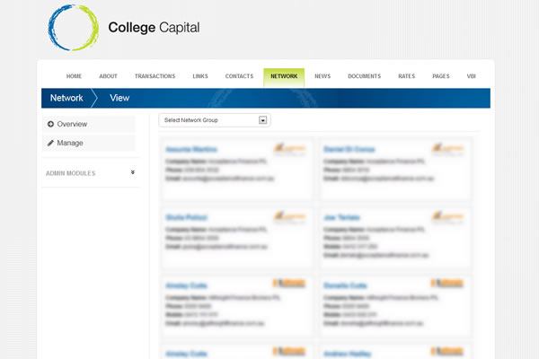 College Capital Intranet