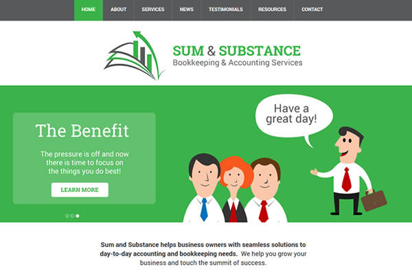 Sum & Substance Website