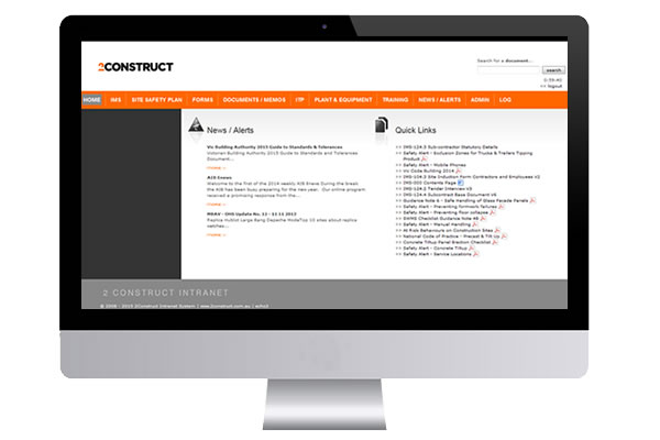 2Construct Intranet