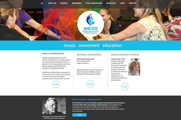 ANCOS Website