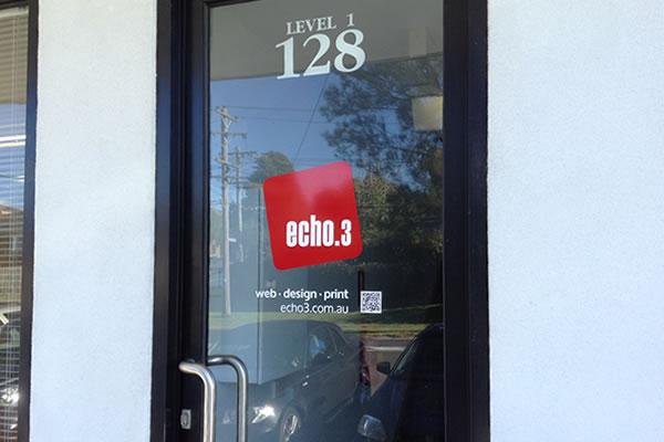 Echo3 Signage