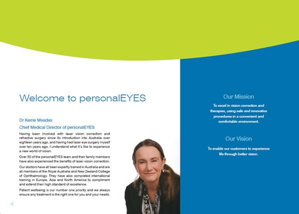 personalEYES Practice Booklet