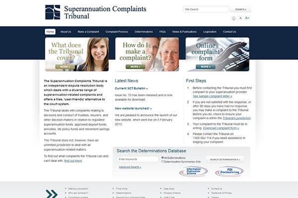 SCT Website