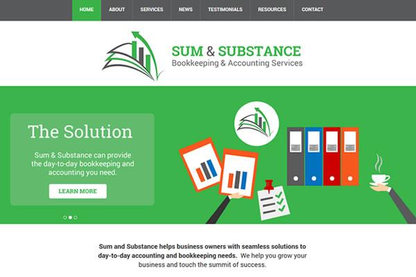 Sum & Substance Website
