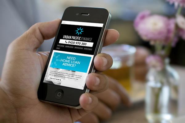 Urban Pacific Finance Website