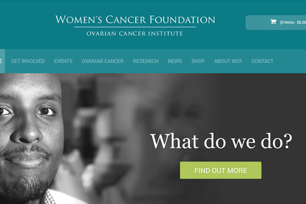 Women's Cancer Foundation Website